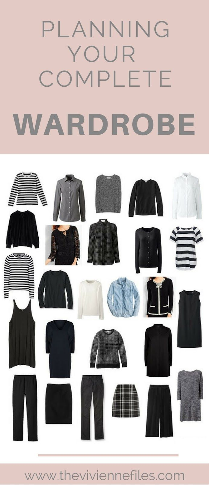 Planning Your Complete Wardrobe