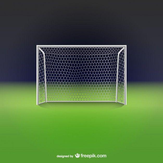 Рисунок ворота футбольные