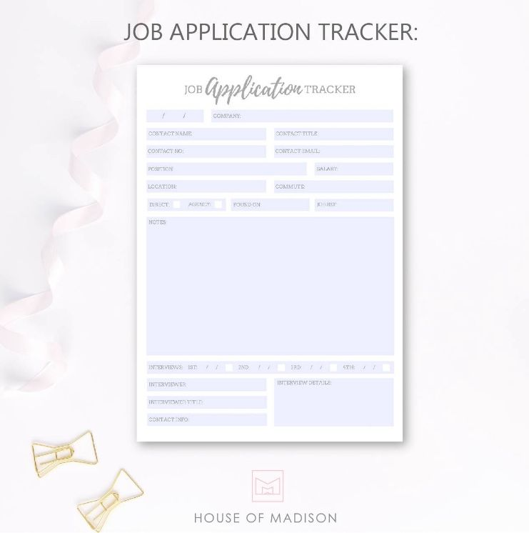 The Ultimate Job Search Bundle Printables Created by a Recruitment