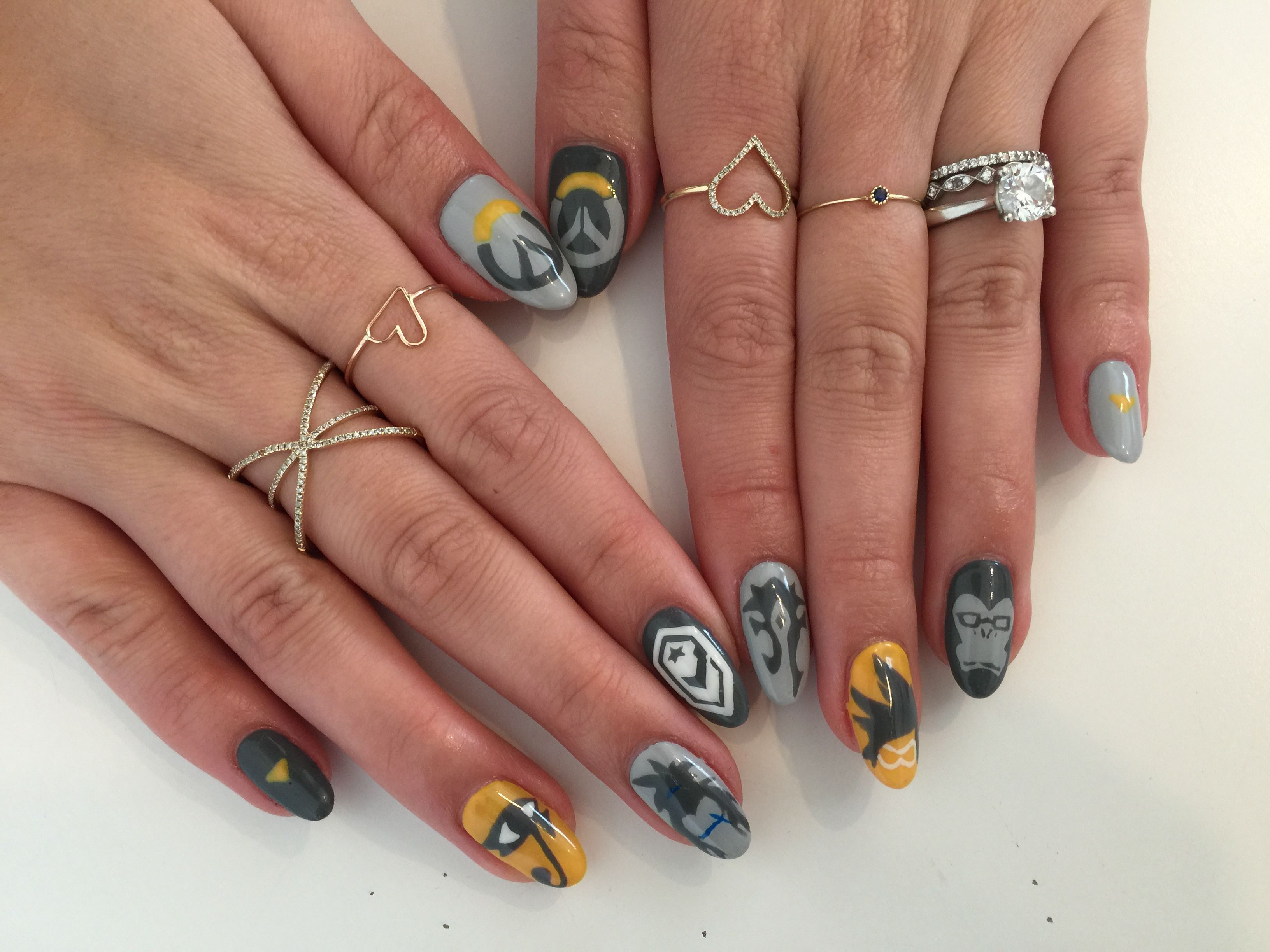 Nail game on point bad ass overwatch nails nails games nail game on point bad ass overwatch nails prinsesfo Choice Image