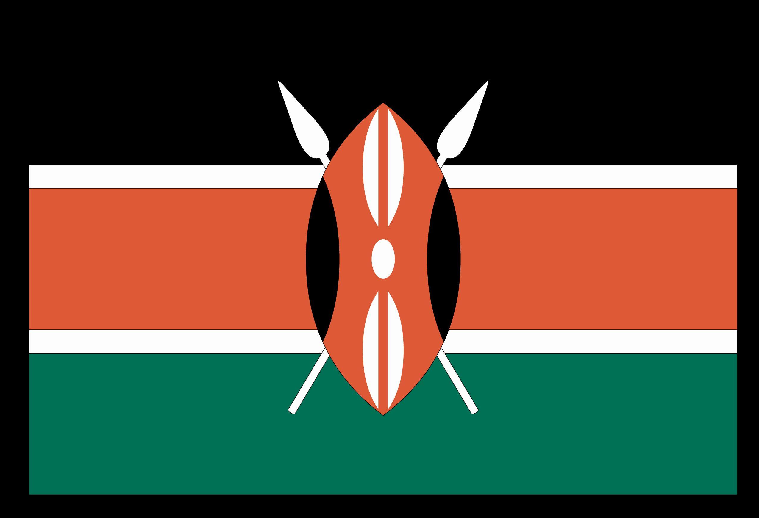 Kenya Flag Coloring Page In 2020