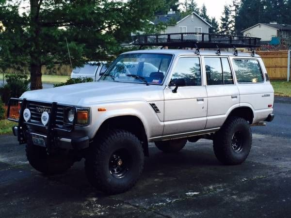 For Sale In Seattle Wa 85 Landcruiser Fj60 Everything Fj60 Land Cruiser Toyota Land Cruiser Toyota Lc
