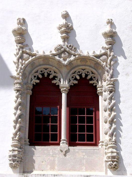 Janela Manuelina [Palácio Nacional de Sintra] - Sintra.