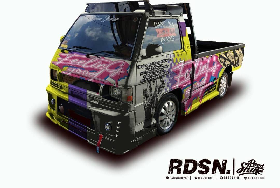 Decal L300 Mobil Modifikasi Mobil Desain