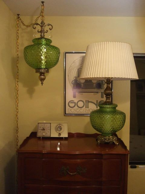 This Is Just One Of My Vintage Swag Lamp Table Lamp Sets