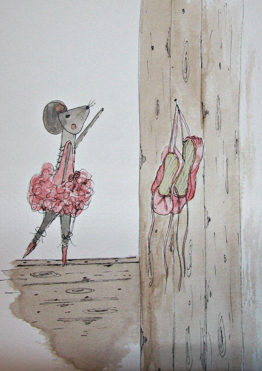 Watercolour Illustration- Ballet