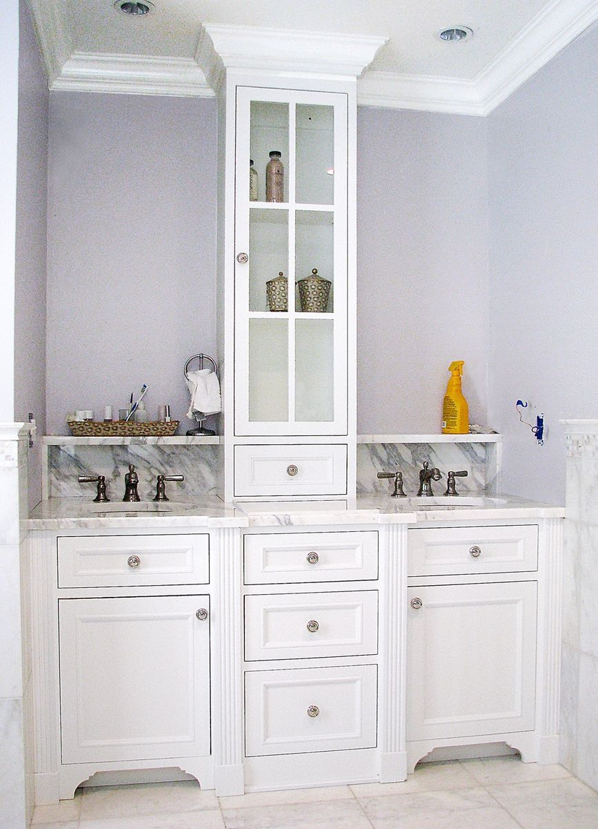 Custom Made Master Bath Vanity | Furniture | Pinterest | Master bath ...