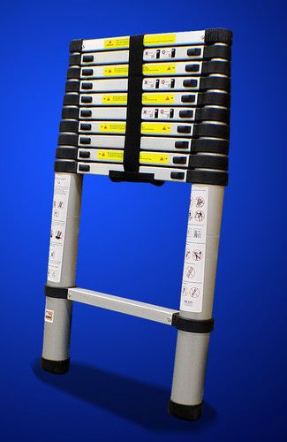 12 5 Ft Aluminum Telescopic Ladder En131 Std Max 330lbs Telescopic Ladder Loft Ladder Aluminum