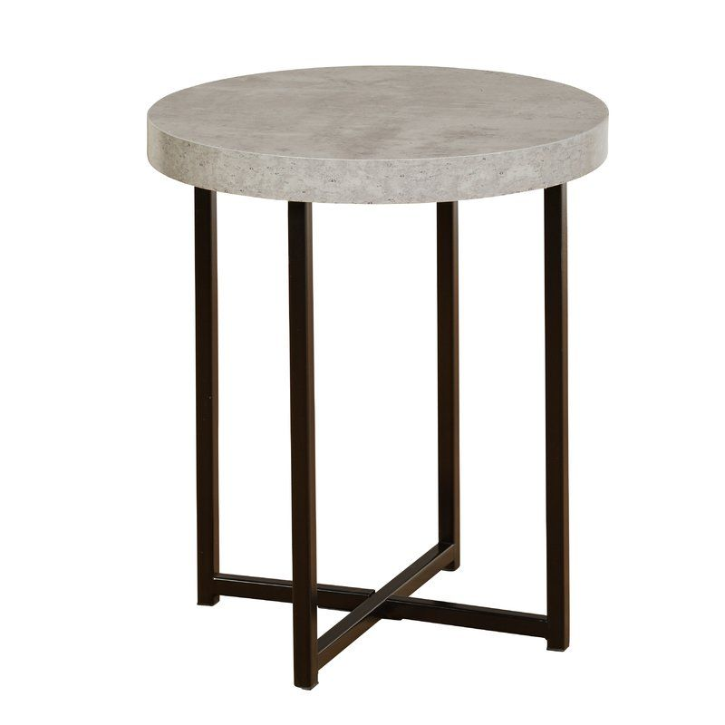 Quan End Table In 2020 Living Room End Tables End Tables Side Table