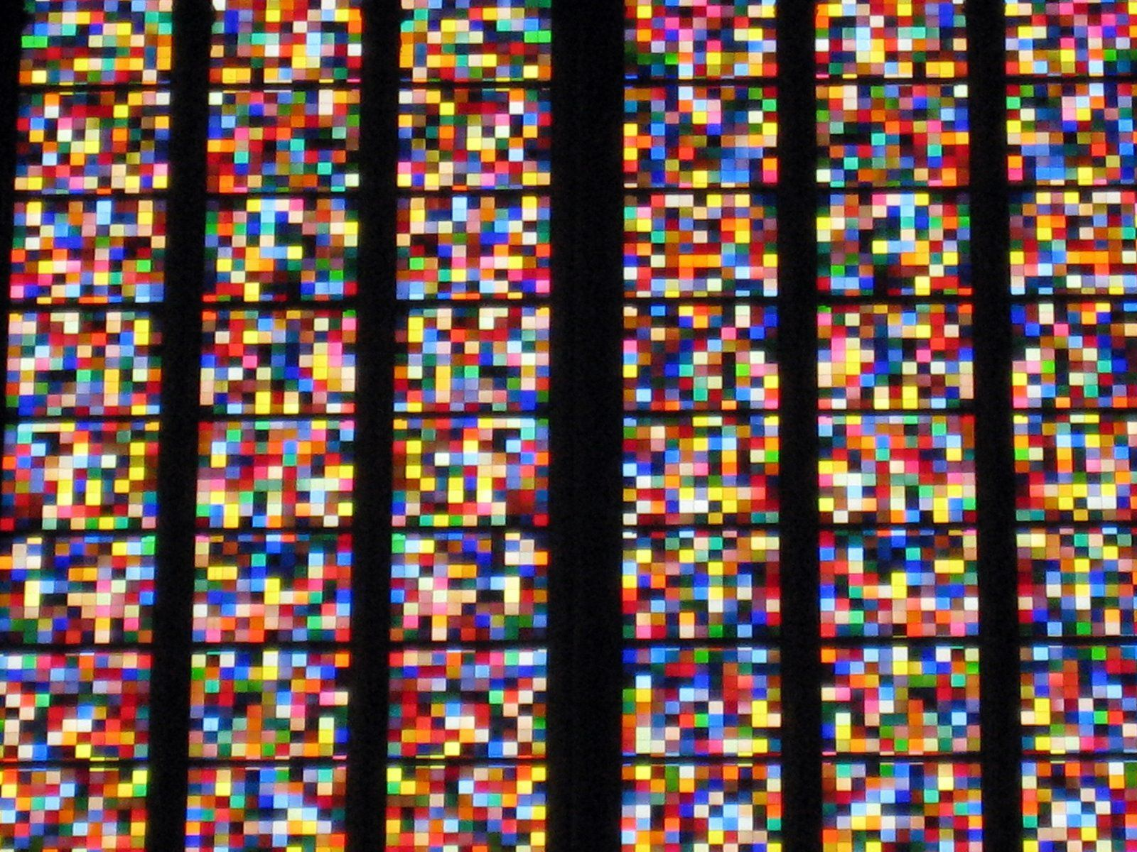 Gerhard Richter Kolner Domfenster Cologne Cathedral Window 2007 11 000 Hand Blown Glass Panels 72 Colors Stained Glass Gerhard Richter Cologne Cathedral