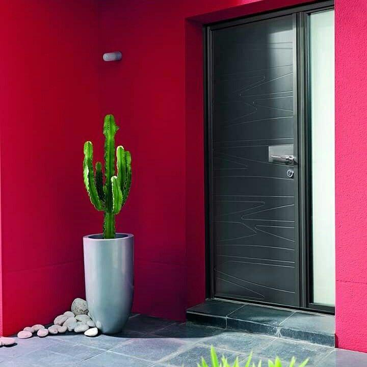 Inspiration Porte D'Entrée Design. Porte En Alu, Modèle Granit De