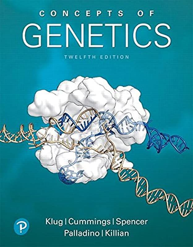Epub Concepts Of Genetics 12th Edition Author William S Klug
