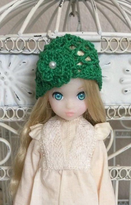 Green Cloche Hat for Petworks Ruruko by Suds | eBay