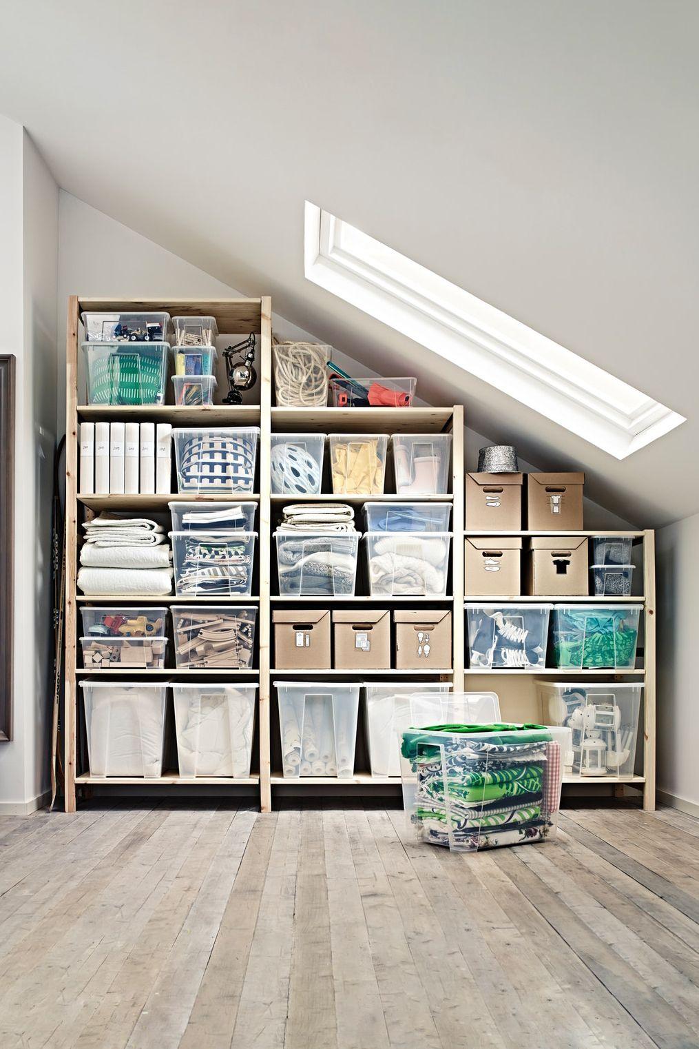 Ivar 3 Elem Boden Kiefer Ikea Deutschland Aufbewahrungssysteme Aufbewahrung Regal Kinderzimmer Regal Dachschrage