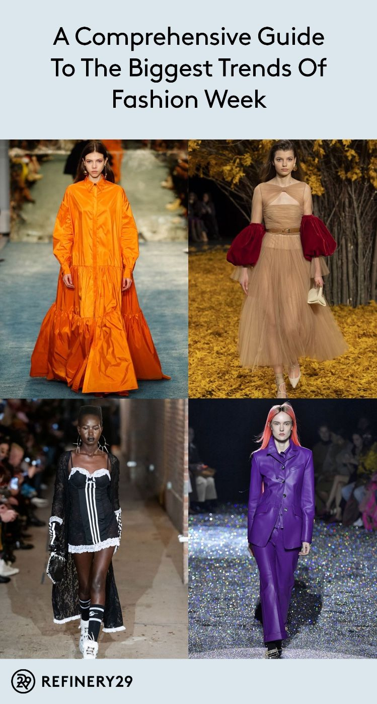 A Comprehensive Guide To The Biggest Trends Of Fashion Week Fashion Week Inspiration Fashion Week 2017 Fashion Trends