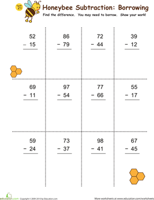 Subtraction with De position   Worksheet   Education furthermore  besides Second Grade Math Worksheets Subtraction Facts To Stirring 3rd likewise Printable Second Grade Math Worksheets First Grade Math Worksheets in addition Subtraction with Borrowing  Honeybees    Math   Math  2nd grade math moreover Subtraction with Regrouping Worksheets additionally  together with Regrouping Worksheets For Graders 3 Digit Addition And Subtraction as well finlayfrench club as well  furthermore Free Math Worksheets and Printouts likewise 3 Digit Subtraction With Regrouping Pinterest Math 2nd Grade further Second Grade Math Worksheets Subtraction Borrowing Two Digit in addition Subtraction to 20 Worksheets likewise 2nd Grade Addition Worksheets Grade Math Sheet 2nd Grade Subtraction furthermore Printable Math Worksheets 2nd De Word Problems Free For Regrouping. on second grade math worksheets subtraction