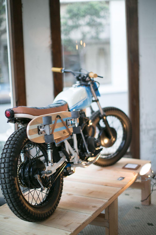 Moto Culture Kickstart Garage & Worlds Greatest Co. Bike