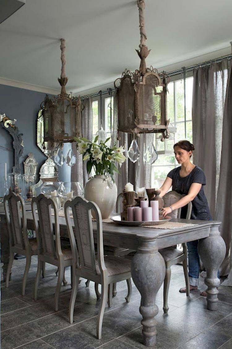 70 Admirable French Country Dining Room Design Ideas French Country Dining Room French Country Dining Room Decor Country Dining Rooms
