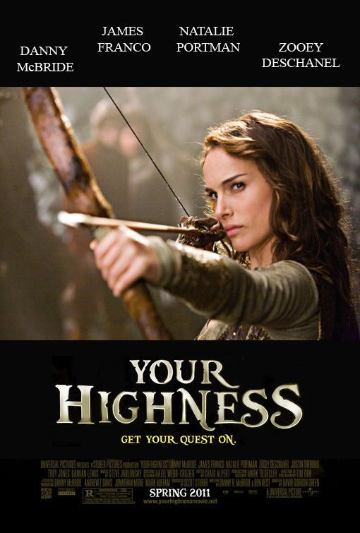 Your Highness Adventure Movie Movie Genres Zooey Deschanel