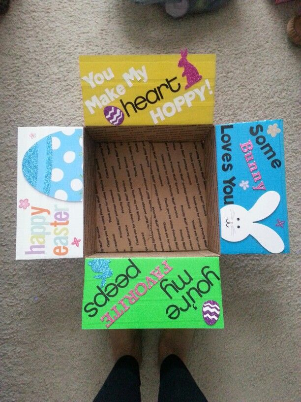 Easter care package for my marine cute ideas pinterest easter care package for my marine negle Image collections