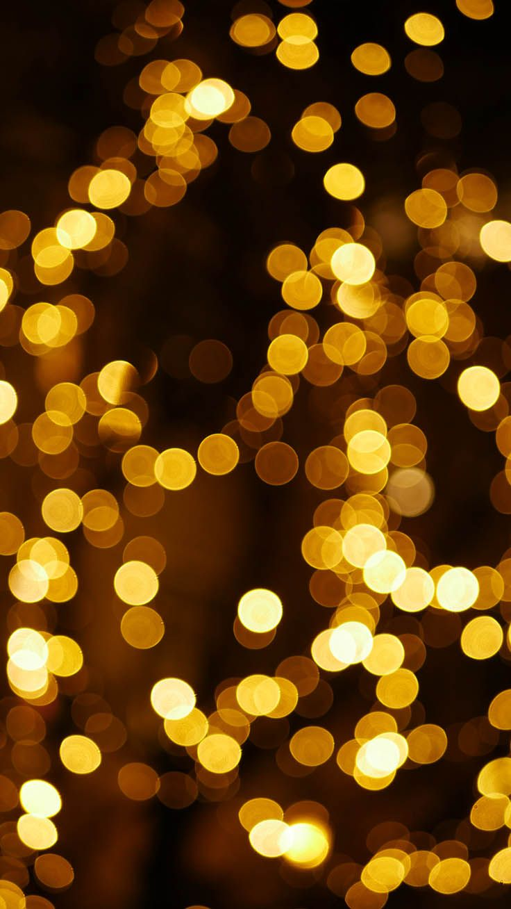 35 Sparkly Christmas Iphone Xs Max Wallpapers Gold