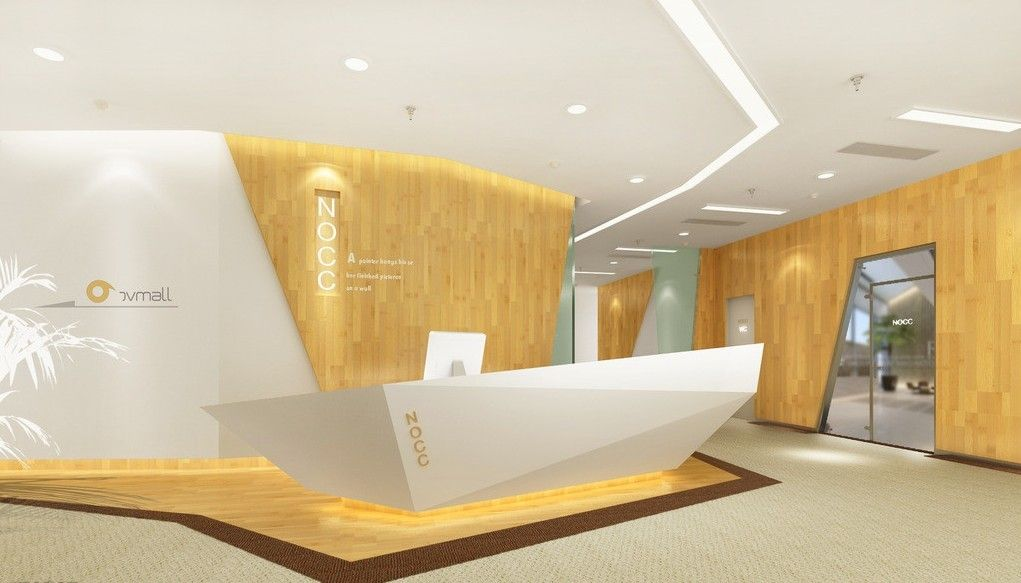 creative company gate interior design rendering ceilings