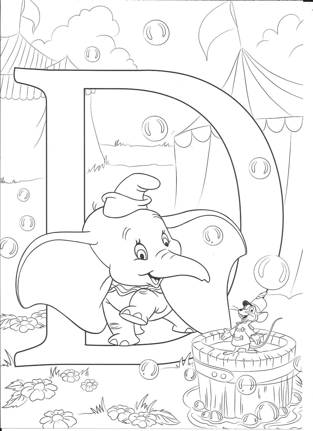 Pin By Mini On Alphabet Coloring Sheets Disney Coloring Pages