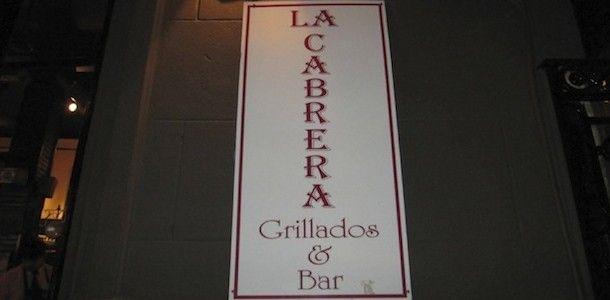 La Cabrera, uma autêntica parrilla argentina com um delicioso Kobe Beef de Bife de Chorizo. Imperdível!
