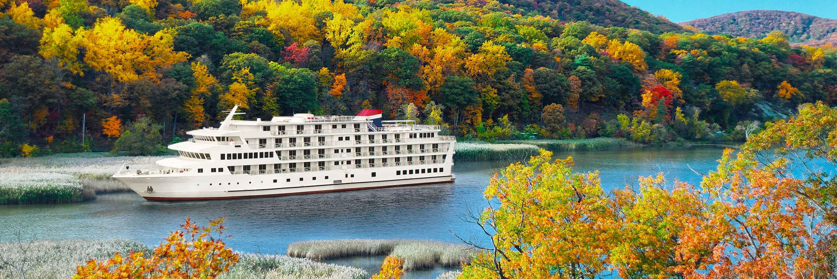 Hudson River Fall Foliage Cruise from NYC  American Cruise Lines