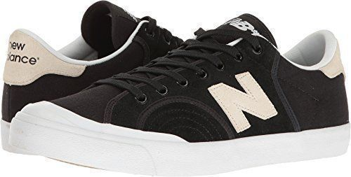 b3743617085 New Balance Numeric Men s NM212 Black White 9 D US  Inspired by classic   70s tennis shoes