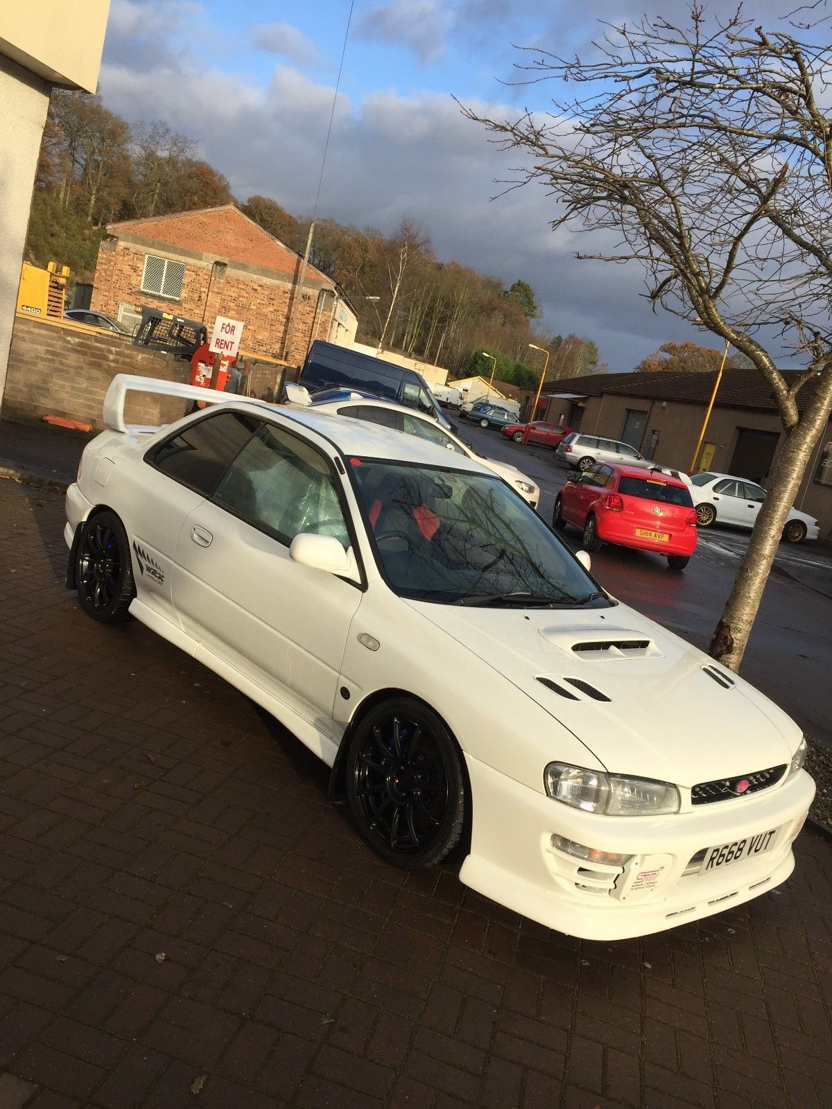 Check Out This Classic Turbo Subaru Impreza Wrx Sti Type R Ra 2door Amazing Car 20k Upgrades Fast Road Track Subaru Impreza Subaru Wrx