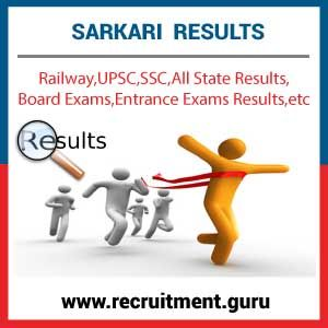 Sarkari Result is all about the latest Government Exam Results, Sarkari Naukri Results in various sectors such as Railway, UPSC, SSC, Bank, Army, Navy, Police, Entrance, Board, University and more result alerts only here. #Sarkarinaukriresults https://www.recruitment.guru/sarkariresult/