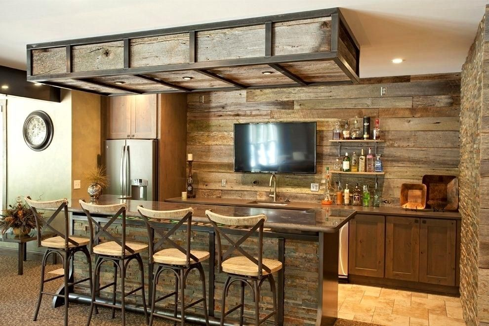 Awesome Small Basement Bar Ideas