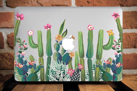 new style 9131e 89a4e Cactus Macbook Air Case Macbook Pro Hard Pro 13 Case Macbook Pro ...