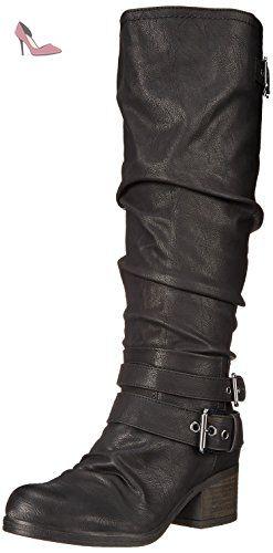 Carlos by Carlos Santana Claudia Wide Calf Femmes US 5.5 Noir Botte -  Chaussures carlos by