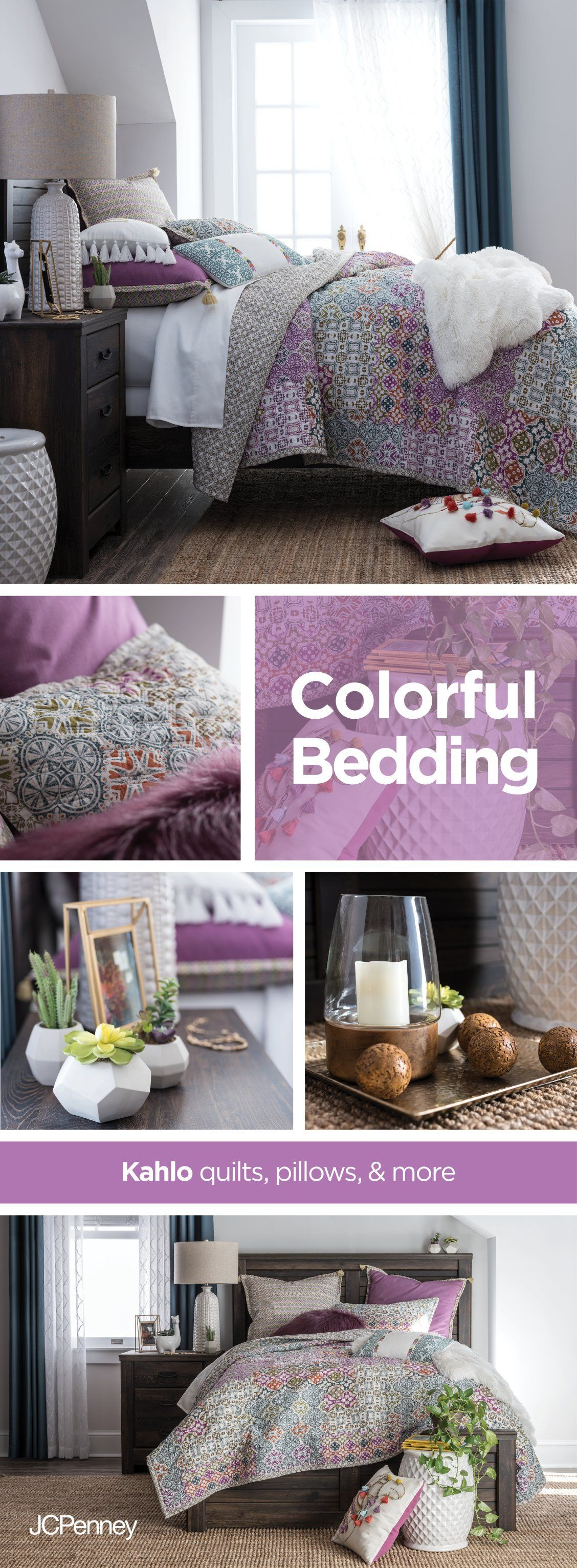 Watch Your Bedroom Bloom With Geo Sunrise Patterns And The