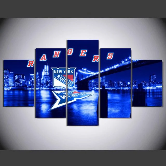 New York Rangers 7 Hockey Canvas Wall Art Print Painting Home Decor It Make Your Day In 2020 Sport Canvas Art Canvas Art Wall Decor Wall Art Prints