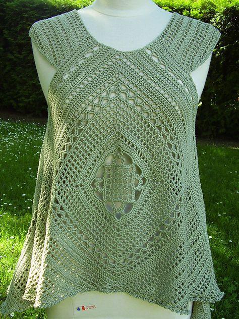 Ravelry: Lacy Swing Top pattern by Mari Lynn Patrick | Crochet ...
