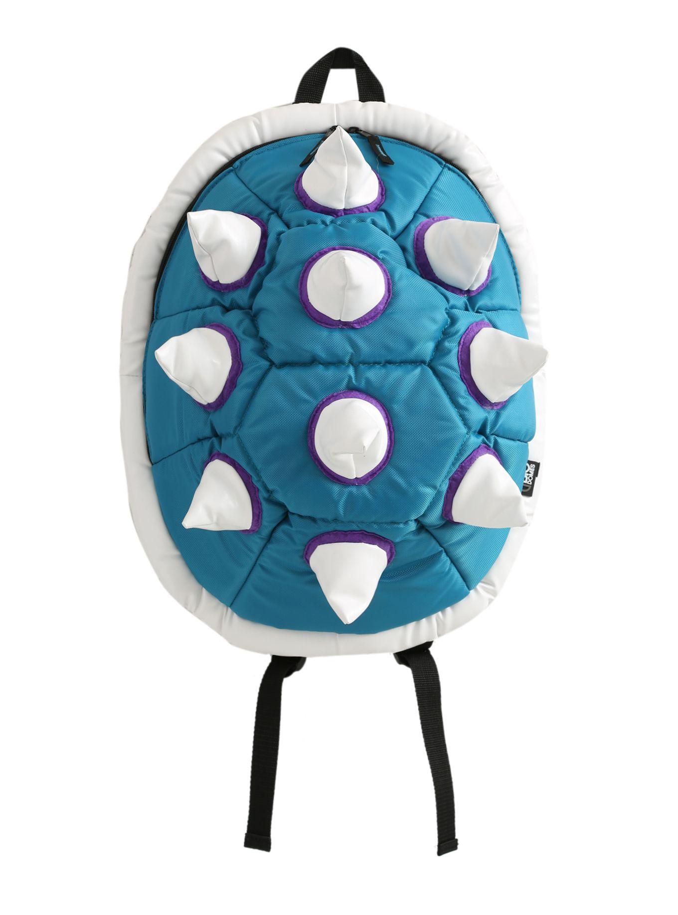 Turquoise spike backpack cosplay costumes backpacks hot topic jpg 1360x1836  Blue spike backpack e8585528325c8