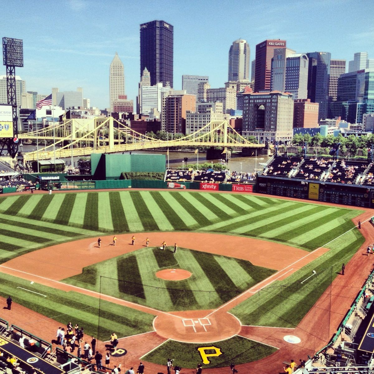 Pnc Park Let S Go Bucs Been Here Several Times Beautiful Ballpark Pittsburgh Pirates Baseball Baseball Park Baseball Stadium