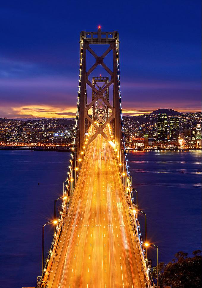 Bay Bridge Bay Bridge San Francisco Bay Bridge Wonders Of The World
