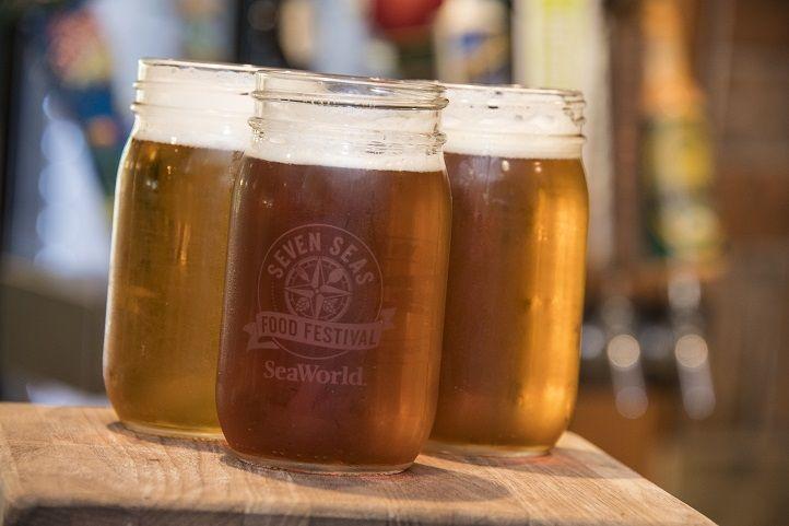 Beer at Seven Seas Food Festival