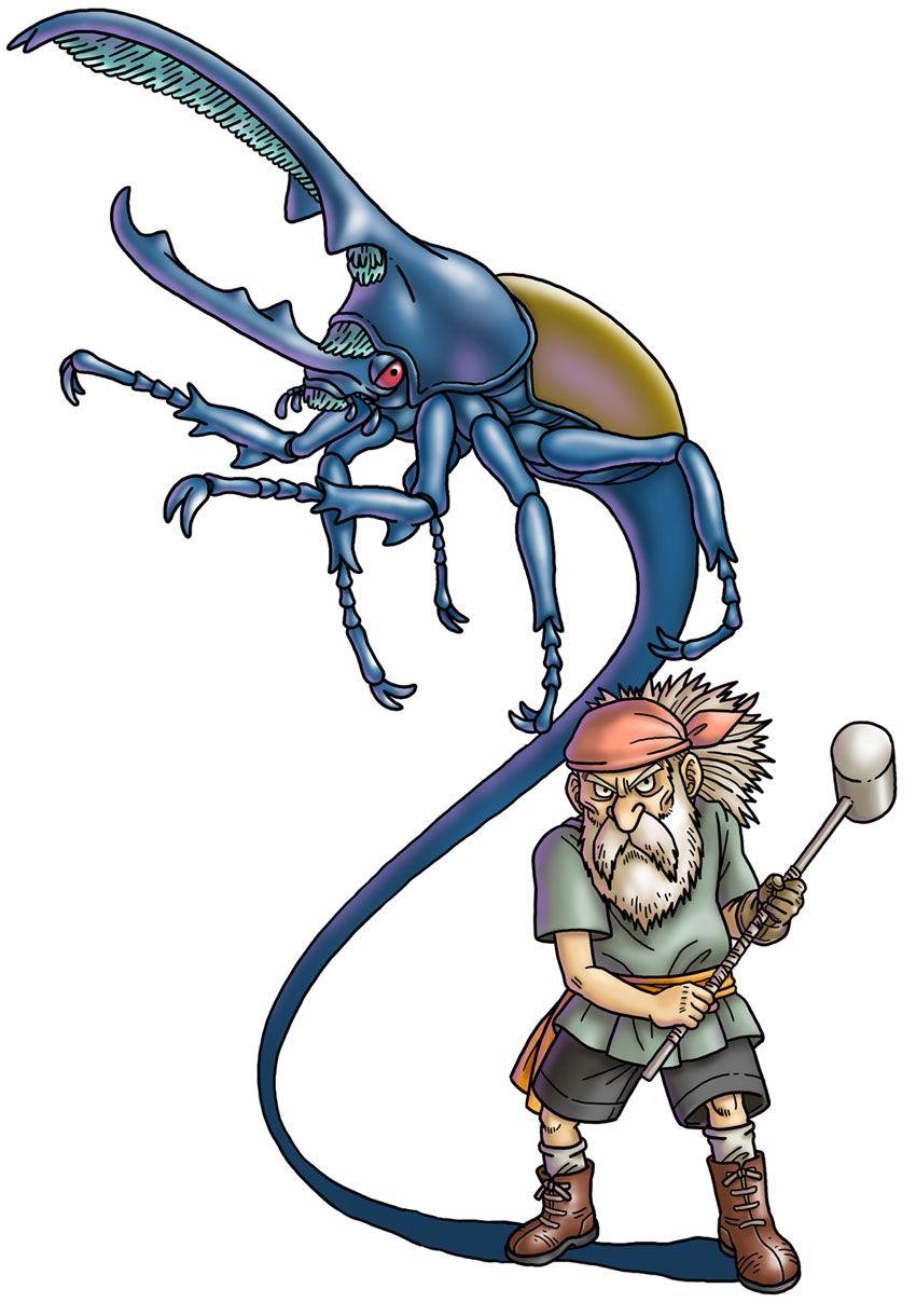 Fushira from Blue Dragon Awakened Shadow ブルードラゴン, 老兵