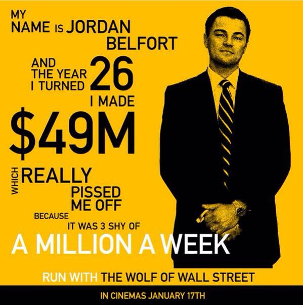 Quotes From The Wolf Of Wall Street Movie. QuotesGram