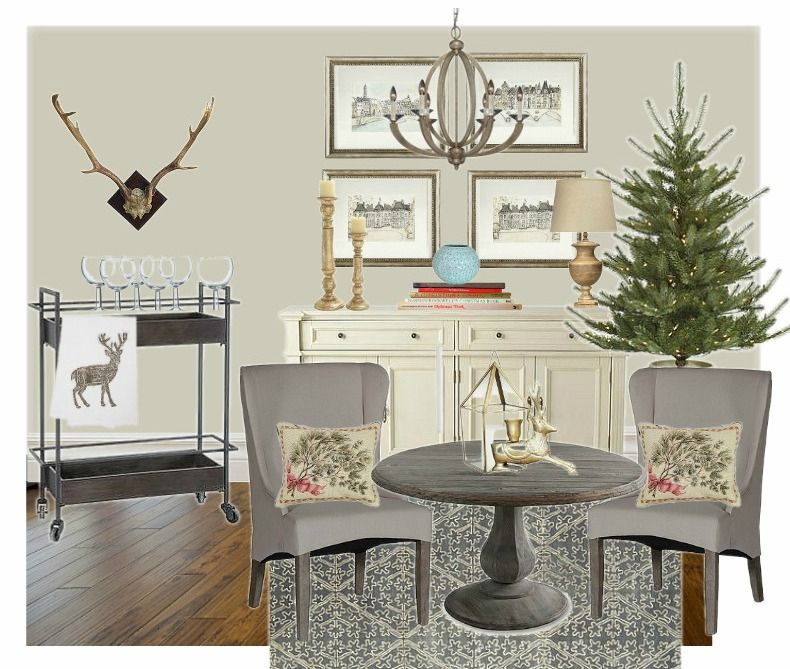 Cabin Paint Colors Interior: A Rustic-contemporary Holiday Inspired Moodboard! Paint