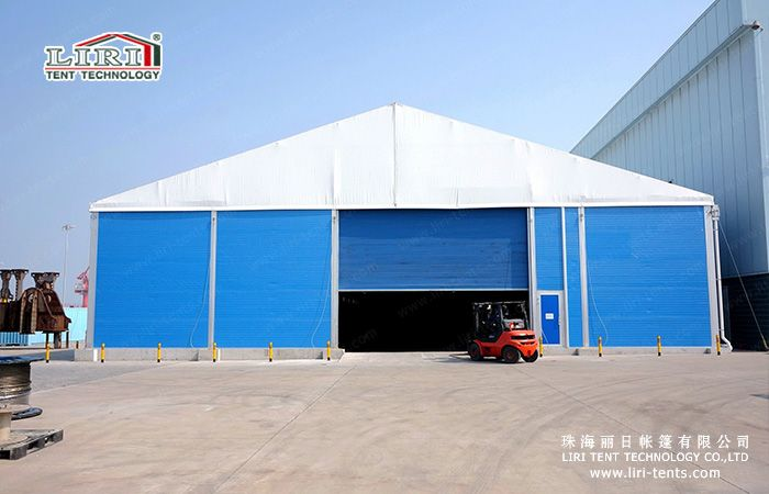 Warehouse TentIndustrial Tent with Insulated walls and roll up door-Temporary or Permanent & Warehouse TentIndustrial Tent with Insulated walls and roll up ...