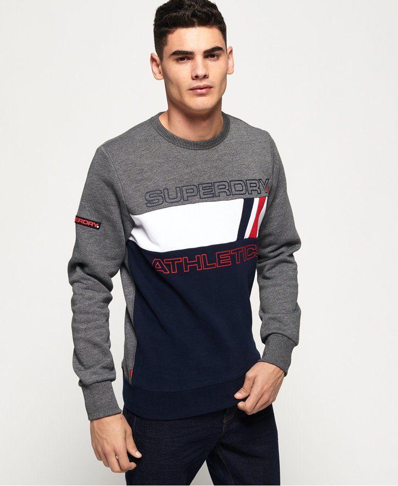 Superdry Trophy Tri Line Crew Sweatshirt Men S Hoodies Mens Sweatshirts Hoodie Hoodies Men Mens Sweatshirts [ 1000 x 820 Pixel ]