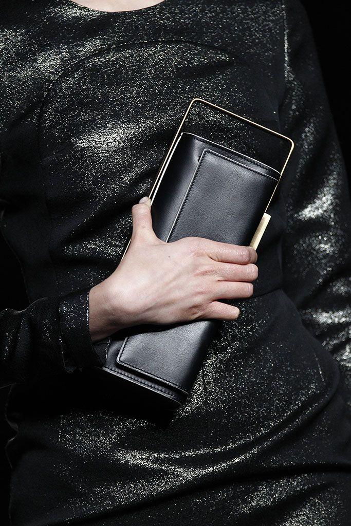 Moisés Nieto fall 2015  luxe noire pochette