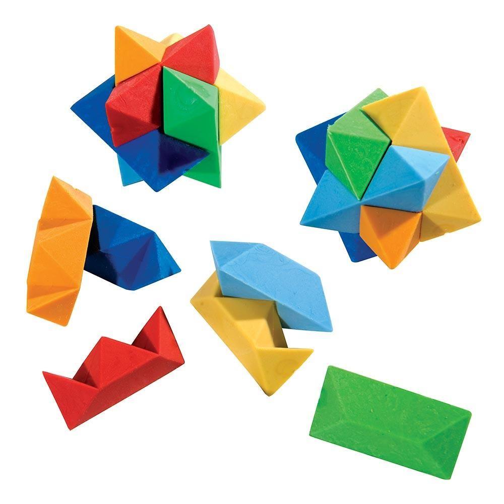 Star Puzzle Erasers   Erasers   Pencil, School supplies, Logos