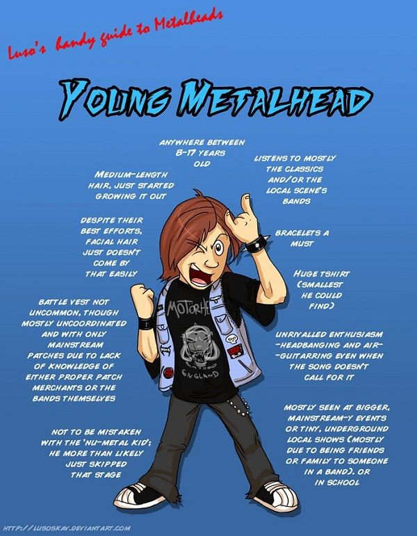 Top 20 Most Annoying Stereotypes Against Rock And Metal Fans